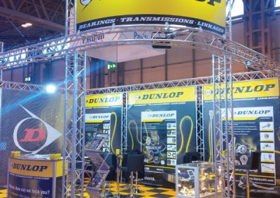Exhibition stand print