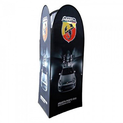 3 Sided Pop Out Banner
