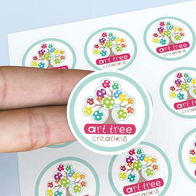 Round & Square Stickers